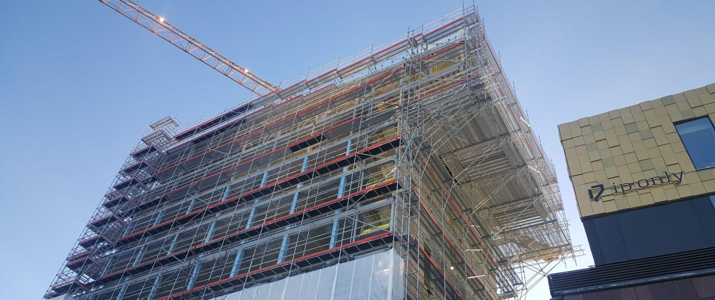 Säkra byggnadsställningar