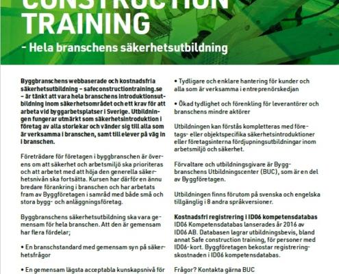 Säkerhetsutbildning